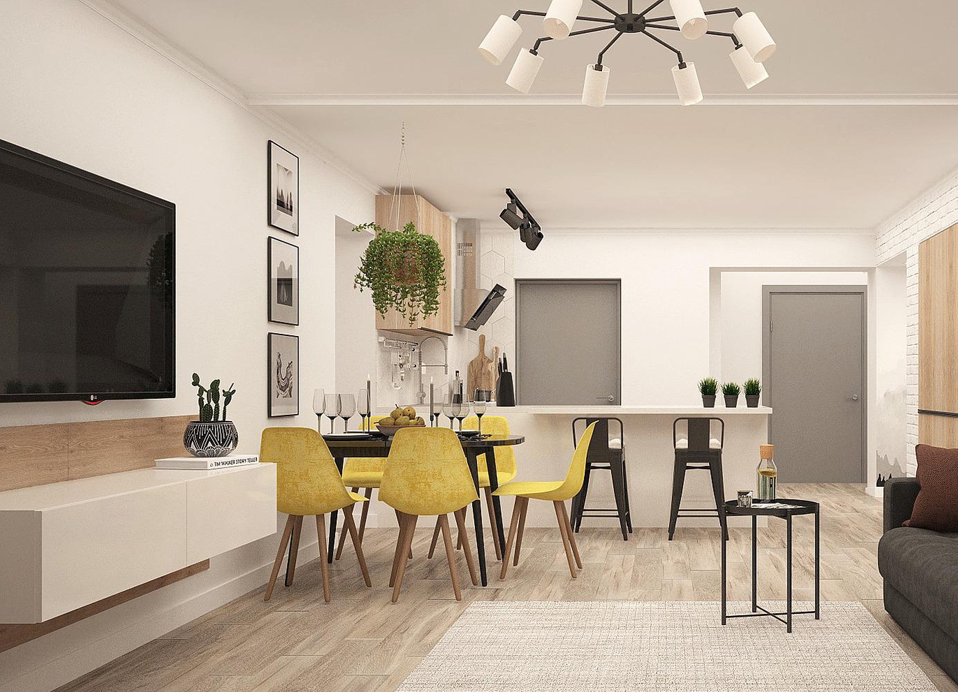 intérieur appartement moyse