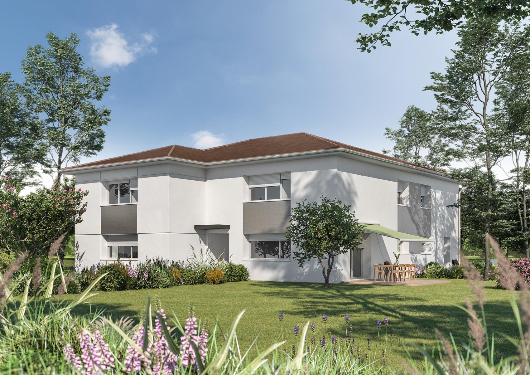 grandfontaine appartement duplex neuf